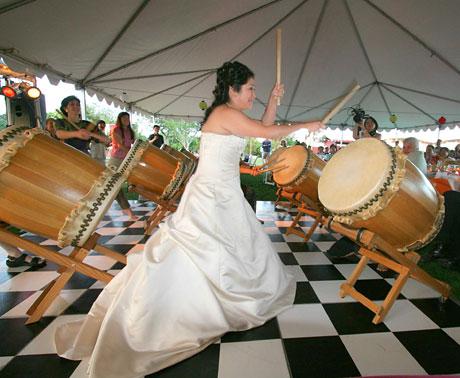 Taiko wedding
